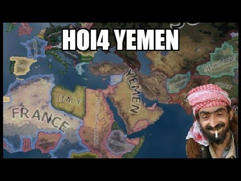 Yemen rules the Middle East (Hoi4 Challenge)
