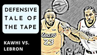 Kawhi vs. LeBron: The different approaches of LA's superstar forwards on defense (2020)