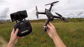 Обзор квадрокоптера MJX Bugs 5W ... GPS, полет по точкам, следуй за мной и БК моторы