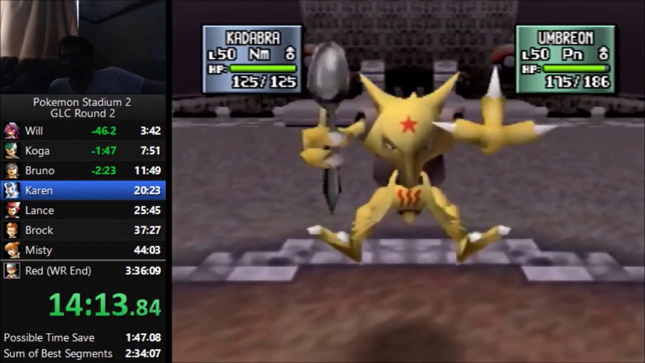Pokemon Stadium 2 Gym Leader Castle Round Sdrun In 3 04 28
