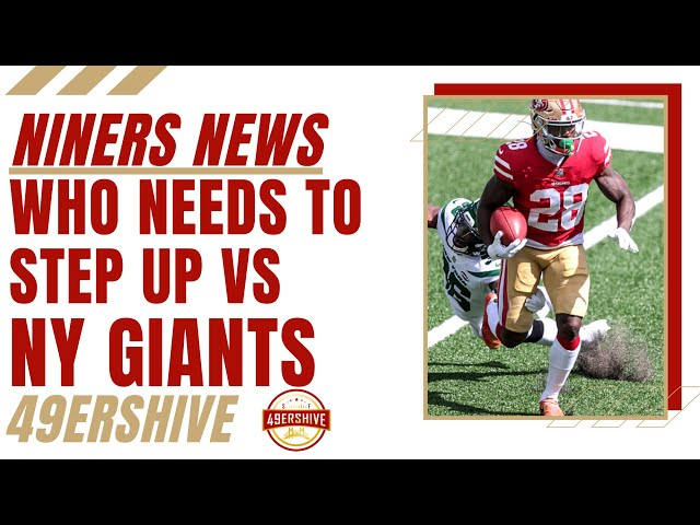 Niners News: Who Needs to Step Up Against the New York Giants?