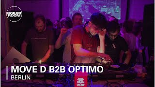 Move D B2B Optimo at RBMA x Boiler Room Berlin