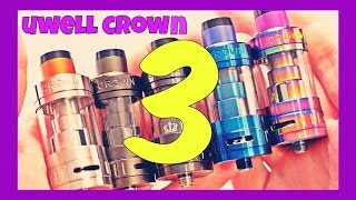 UWELL Crown 3 Quick Glance! FAIL Or NOT?!