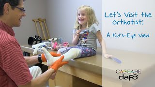 Let's Visit the Orthotist: a Kid's-Eye View