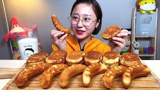 계란빵 스팸계란빵 바나나빵 디저트 먹방 Dessert …