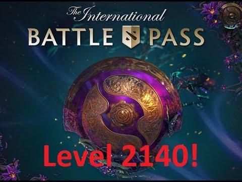 Dota 2 TI9 Maximum Level Compendium! (@Level 2140) [40 Pass Giveaways!]