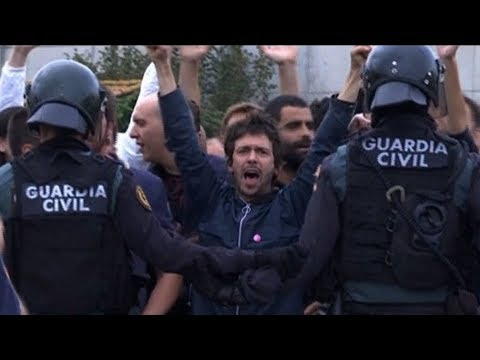 Crackdown by Spain on Peaceful Voters Who Favor Catalonia Independence Recalls Franco Regime