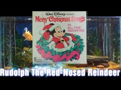 Rudolph The Red Nosed Reindeer = Merry Christmas Songs = Walt Disney