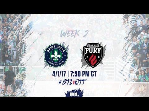 USL LIVE - Saint Louis FC vs Ottawa Fury FC 4/1/17