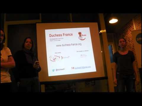Girlz in Web, RailsGirls et Duchess France : des femmes dans l'IT par des membres des trois groupes