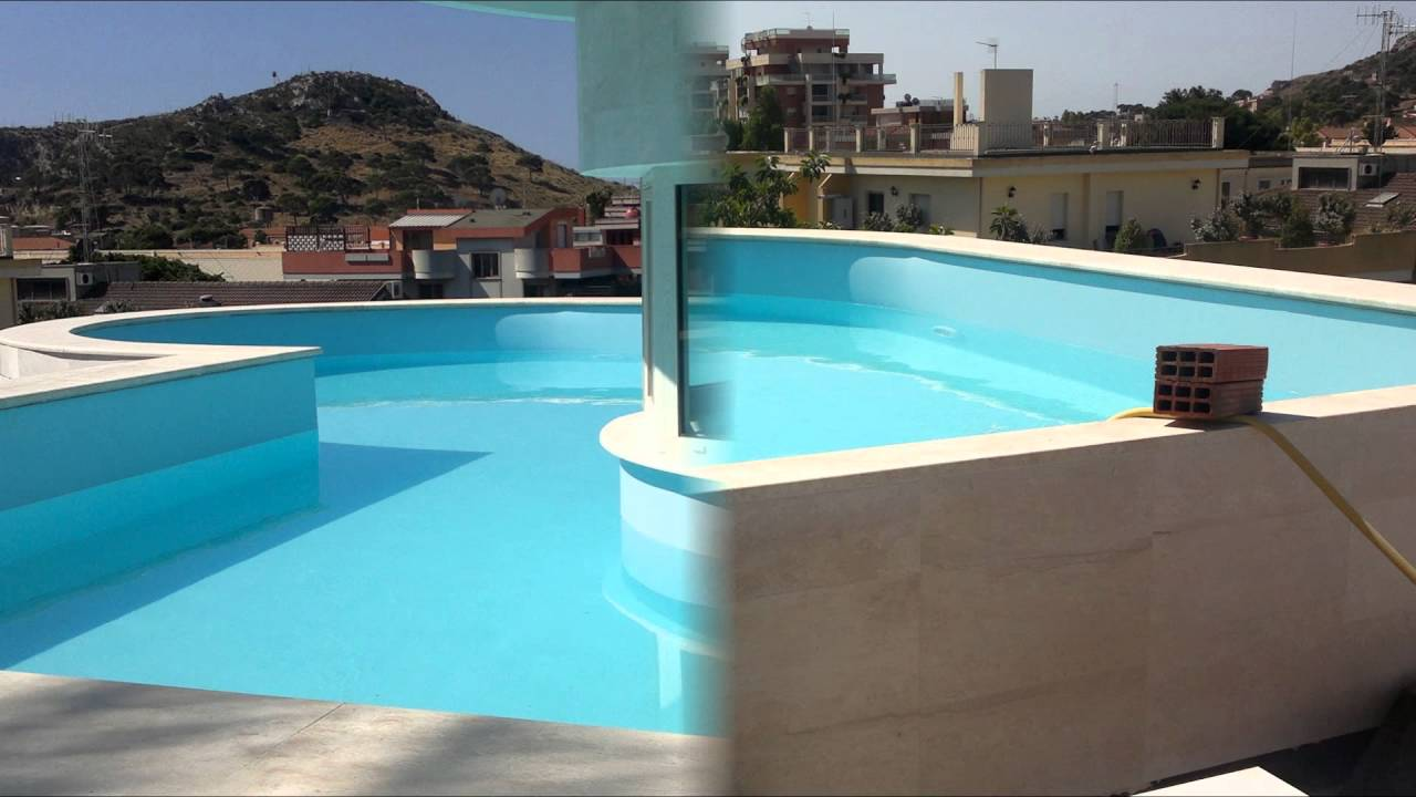piscina su attico youtube