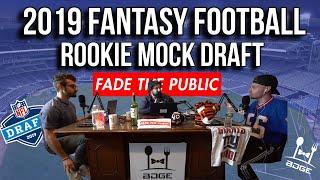 2019 Fantasy Football - 1st Round Rookie Dynasty Mock Draft
