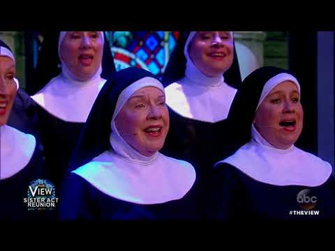 Sister Act Reunion: Whoopi Goldberg And CoStars Perform  The View