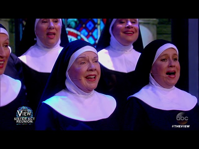 'Sister Act' Reunion: Whoopi Goldberg And Co-Stars Perform | The View