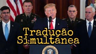 Tradução Simultânea Discurso Do Trump