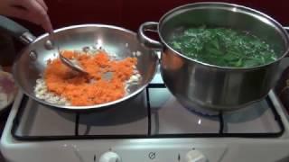 суп из крапивы (очень вкусный и простой в приготовлении )
