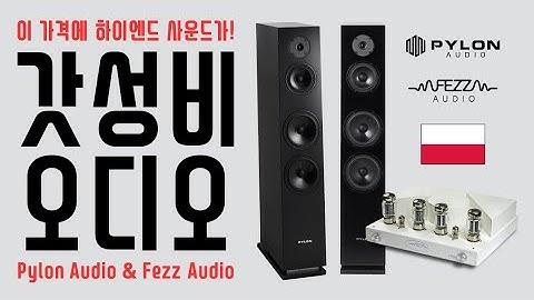 [✨최고의 조합✨] 이 가격에 하이엔드 사운드가? Pylon & Fezz 오디오 브랜드를 소개합니다. (Introduce Pylon Audio & Fezz Audio)
