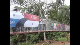 Arup And B2p In Panama - Construction Of A Suspension Footbridge With The Community Of Ciricito