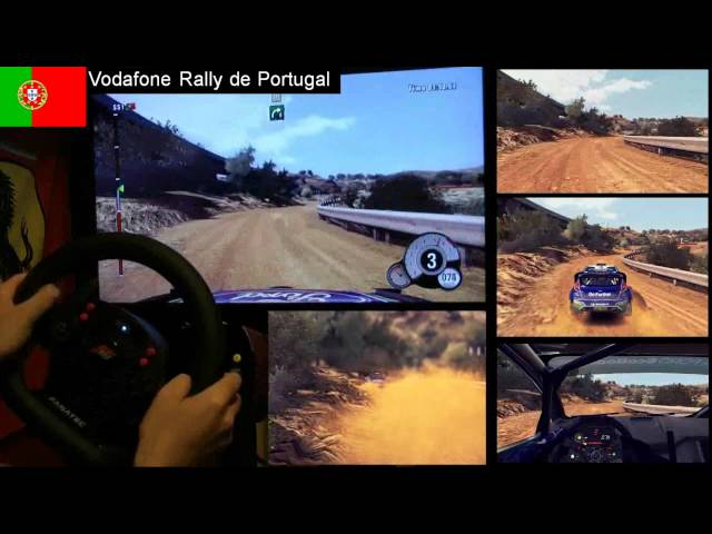 WRC 3 Portugal single stage
