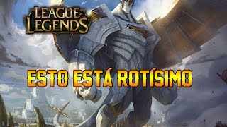 LEAGUE OF LEGENDS   GALIO - ESTO ESTÁ MUY ROTO 😂 - GAMEPLAY ESPAÑOL