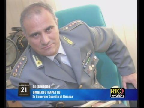 Articolo 21 di Lino Polimeni del 14 dicembre 2016 - Generale Umberto Rapetto RTC TELECALABRIA