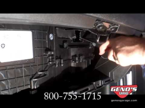 4 Gen Cabin Filter Install Youtube