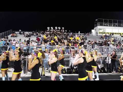Goose Creek High School band plays against Cane Bay