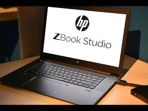 Hp zbook studio mobile workstation review hands on youtube for Studio mobili