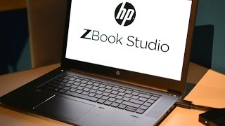 hp zbook studio mobile workstation review hands on