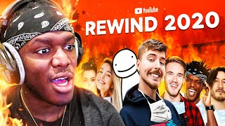 Reacting To MrBeast's Youtube Rewind 2020