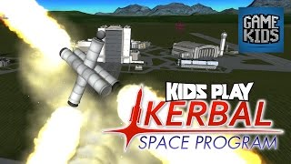 Burnie And JD Play Kerbal Space Program Part 3 - Kids Play