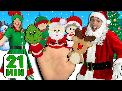 Christmas Finger Family and More Finger Family Songs! | Finger Family Collection