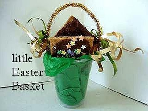 Quick Easy Little Easter Basket Simple Kids Craft Group Activity