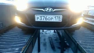 Замена масла и масляного фильтра + промывка на Хендай Солярис1.6(Hyundai Solaris)(Как поменять)XXX