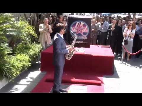 Dave Koz Hollywood Walk of Fame Star Ceremony