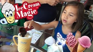 ICE CREAM MAGIC Personal Ice Cream Maker!!! Demo by EvanTubeHD