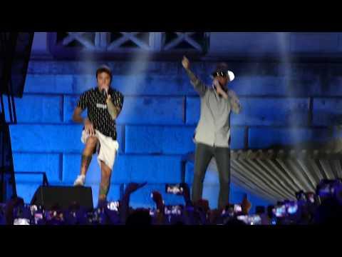 J-AX e FEDEZ  ''Senza pagare'' WIND SUMMER FESTIVAL ROMA 2017.