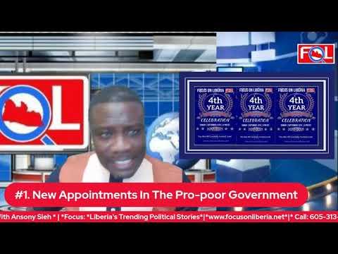 *Liberia's Trending Political Stories