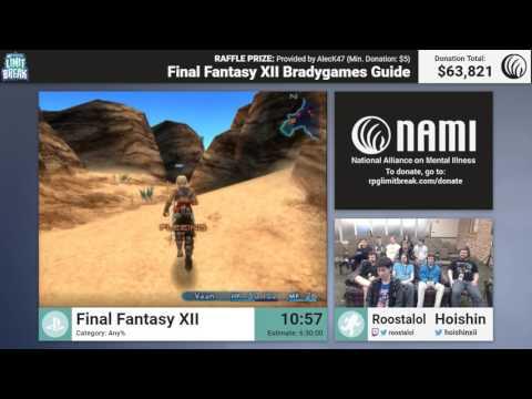 Final tasy XII by Roostalol and Hoishin RPG Limit Break 2017 Part 37