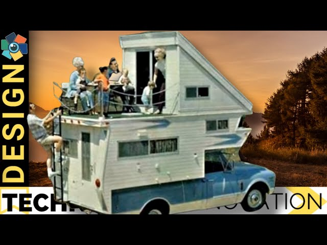 10 RETRO MOTORHOMES & GROOVY CARAVANS 60's and 70's (Top Picks)