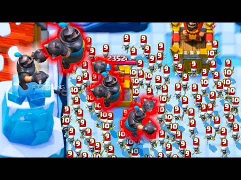 Funny Moments, Glitches, Epic Plays, and Fails - Clash Royale Montage #33