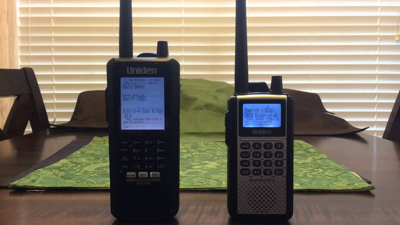 Uniden BCD436HP with the BCD396XT using stock antennas