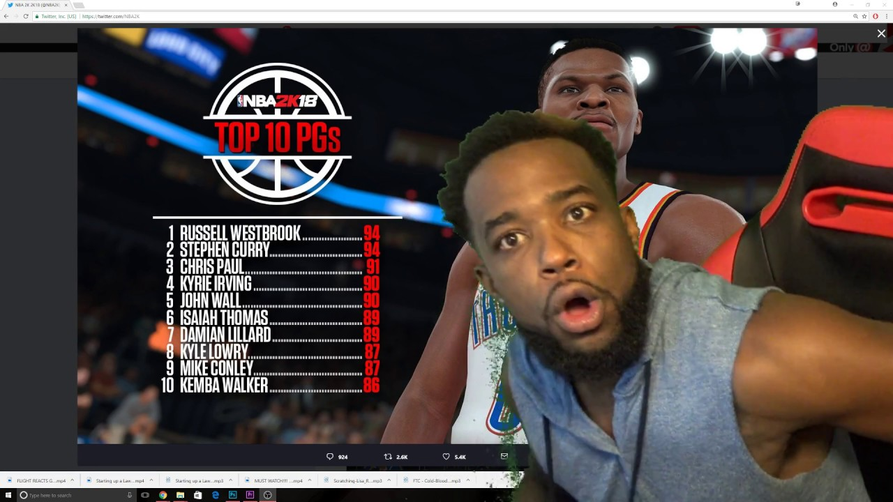 WHAT ARE YOU DOING 2k? NBA 2k18 TOP 10 RATINGS OF SMALL ...