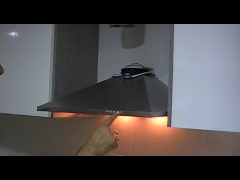 Instalaci n de campana extractora decorativa youtube - Instalacion campana extractora ...