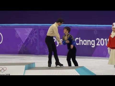 Pyeongchang Winter Olympics 2018 Single men's figure skating Venue ceremony 2018.02.17
