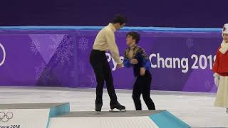 Pyeongchang Winter Olympics 2018 Single men's figure skating Venue ceremony 2018.02.17