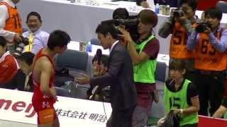 明治杯全日本選抜選手権/最終日 代々木第二体育館.