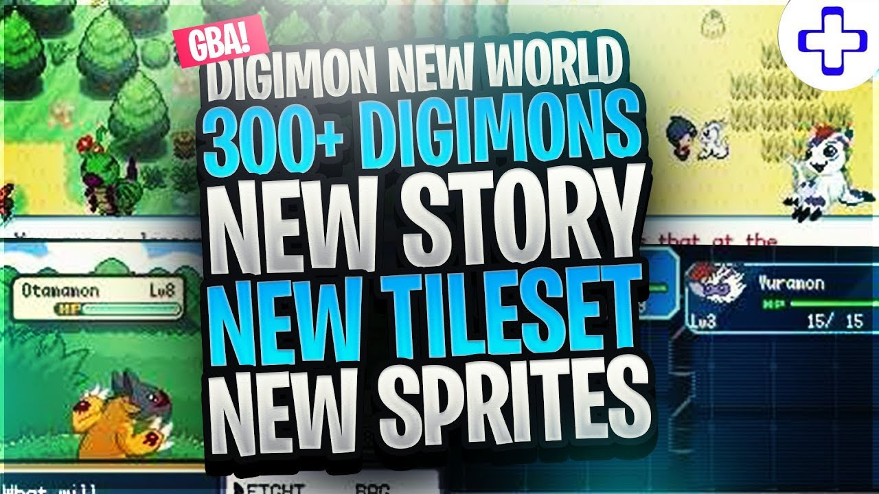 Digimon New World - A New GBA Rom Hack with 300+ Digimon, New Story & More!