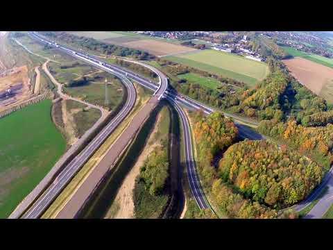 DJI Phantom  Autobahnkreuz Holz A44 / A46 Neu