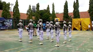 Paskibra Ksatria Elang Putih SMP Gelora Depok SMPN 2 depok